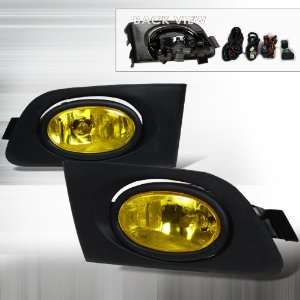 Honda Civic OEM Foglights Yellow With Wire Relay & Switch Automotive