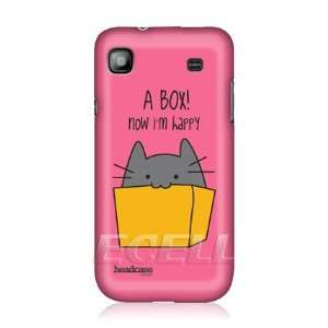 HEAD CASE DESIGNS CAT IN A BOX BACK CASE COVER FOR SAMSUNG GALAXY