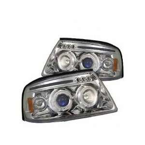 03 05 Ford Expedition Projector Head Lights LED Automotive