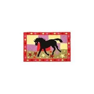 Prancing Horse Indoor/Outdoor Rug