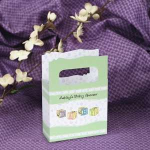Blocks   Mini Personalized Baby Shower Favor Boxes Toys & Games