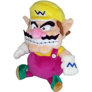 Super Mario Plush   7 Wario Soft Stuffed Plush Toy Japanese Import