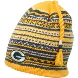 Green Bay Packers Tassel Knit Hat