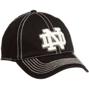 NCAA Mens Notre Dame Fighting Irish Shortstop Cap (Black