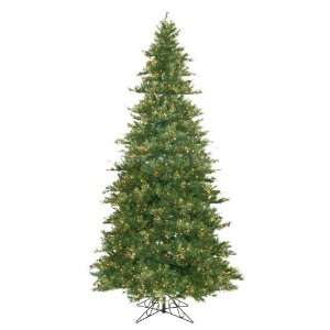 New   12 Pre Lit Slim Mixed Country Pine Christmas Tree