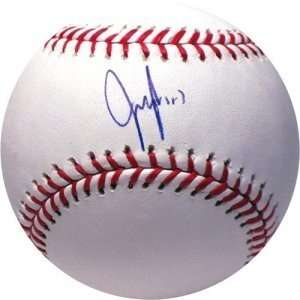Jeff Francoeur Autographed/Hand Signed Official Major League Baseball