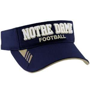 adidas Notre Dame Fighting Irish Navy Blue 2010 Coaches