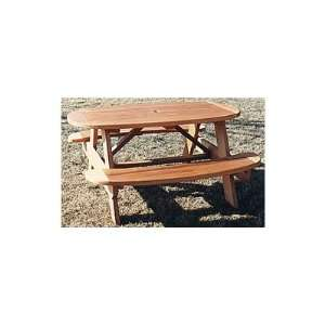 Picnic Table Plan   Woodworking Project Paper Plan