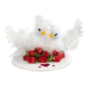 Mobilitee Doll Valentines Love Doves White 4