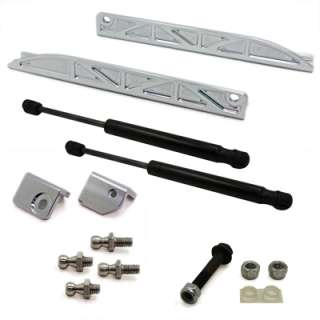 05 09 Ford Mustang Billet Aluminum Hood Strut Shock Lift Kit
