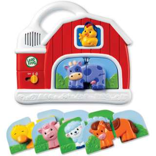LeapFrog Fridge Farm Mix and Match Magnetic Animal Set