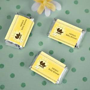 Neutral Baby Carriages   20 Mini Candy Bar Wrapper Sticker Labels Baby