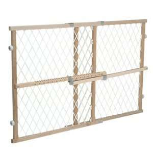 Evenflo Position Lock Wood Safety Gate Baby Infant Pet Kid Guard