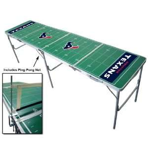 Houston Texans Tailgating, Camping & Pong Table