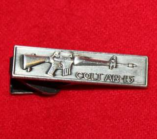 COLT Firearms Factory Silver Tie Bar AR 15