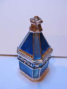 JANE SEYMOUR ~ TRINKET BOX ~ SWAROVSKI CRYSTAL