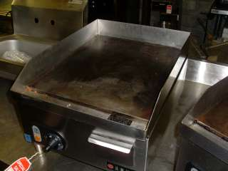 Used Vollrath FTA715 Anvil 14 Electric Countertop Griddle, Flat Grill