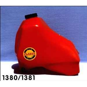 Clarke Gas Tanks Honda CR500R (1984) 4.0 Gal.   Red #11381
