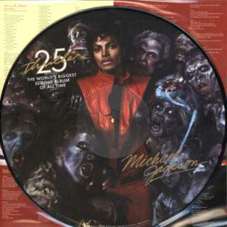 Michael Jackson Thriller 25th LP Picture Disc Vinyl NEW