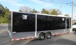 NEW 8.5 x 28 Enclosed Trailer Car Equipment Hauler