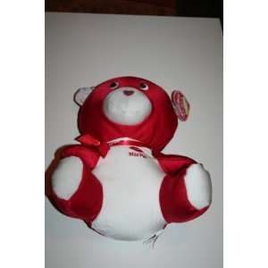 Red Valentines Teddy Bear Spandex Plush Stuffed Animal Toys & Games