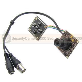 650TVL, SONY Effio, DSP SONY CCD, Board Camera, 3.6mm MTV Lens with